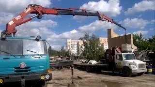 Кран-манипулятор - круглосуточно. Москва и область(, 2016-07-21T14:15:27.000Z)