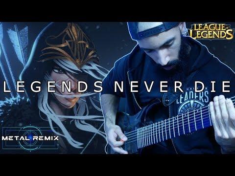 Legends Never Die (Against The Current x LoL) | DJENT REMIX