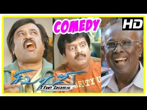 Sivaji Comedy | Sivaji The Boss  Comedy Scenes | Rajinikanth, Vivek, | Ar Rahman | Solomon Pappaiya