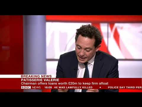 Finance director of crisis hit Patisserie Valerie arrested   Breaking News  12th OCTOBER 2018