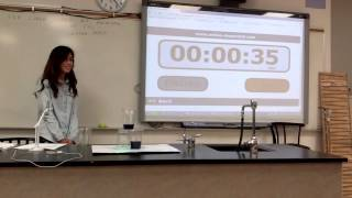 Water clock project; Physics