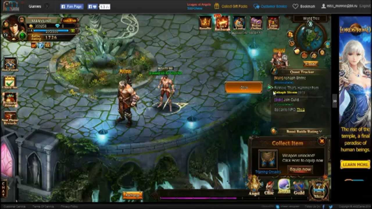 League of Angels MMORPG amzgame com 2015 05 22 22 41 56  246�Subscribe�Share‹Support$