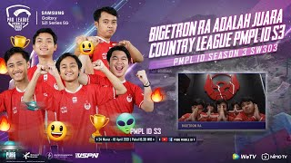 PMPL INDONESIA S3 | SW3 D2 | SAMSUNG GALAXY S21 SERIES 5G | BIGETRON JUARA COUNTRY LEAGUE PMPL ID S3