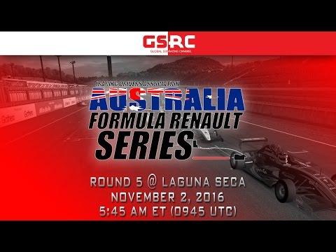IDA Australia Formula Renault Series - 2016 Round 5 - Laguna Seca