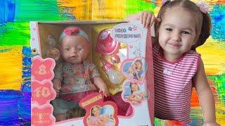 Пупс Бебі Борн. Лялька Baby Born. Розпакування пупса Бебі Борн. Bobblehead Baby. Born Baby Doll Born