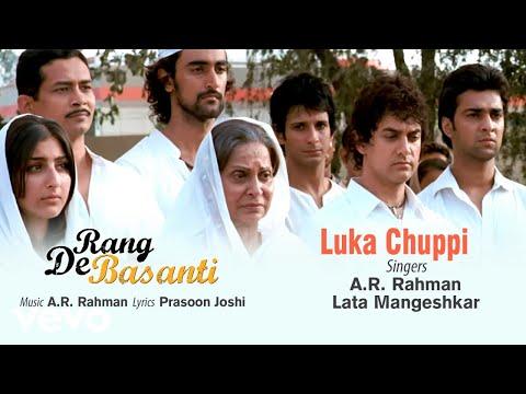 A.r. Rahman Luka Chuppi Best Audio Songrang De Basantiaamir Khanlata Mangeshkarsoha