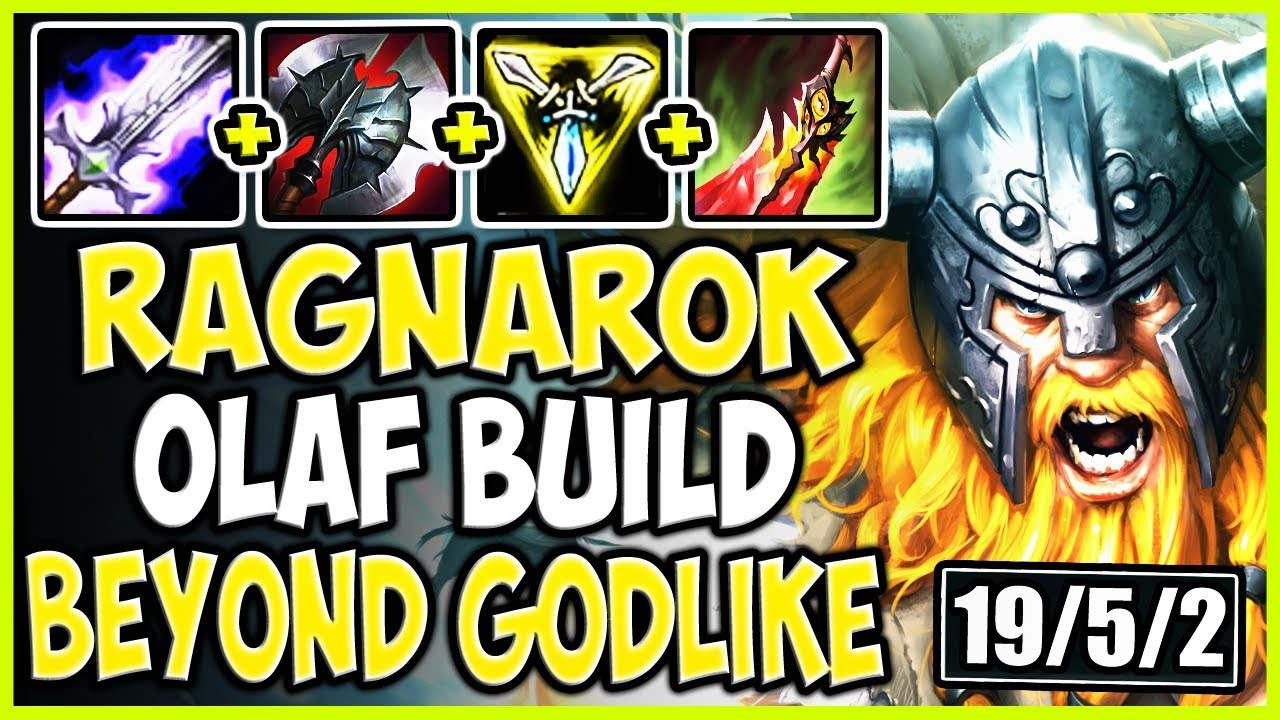 Ragnarok Olaf Season 9 Build Make Olaf Beyond Godlike With This Top Olaf Vs Vladimir S9 Gameplay Youtube