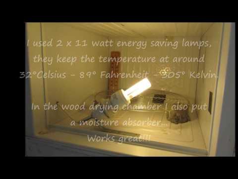 Knifemaking Wood/Epoxy Glue Drying Cabinet
