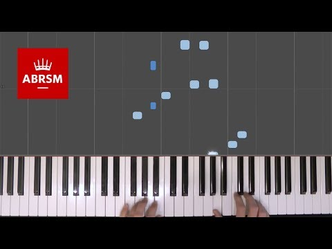 Asian Tiger Prowl / Rob Hall / ABRSM Piano Grade 1 2017 & 2018, C:1 / Synthesia 'live keys' tutorial