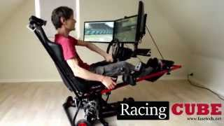 3DOF Racing Simulator - Test Drive (RacingCUBE)