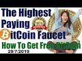 Highest Paying BitCoin Faucet and How To Get Free BitCoin Make Money And Passive Income Online
