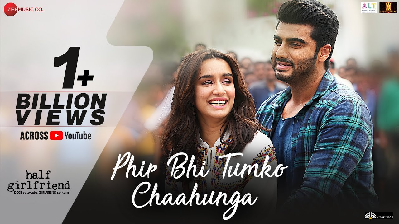 Phir Bhi Tumko Chaahunga - Full Video | Half Girlfriend| Arjun K,Shraddha K | Arijit Singh| Mithoon #1