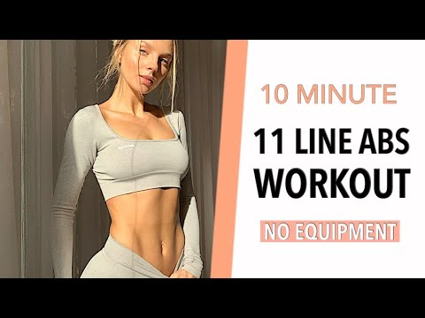 11 LINE ABS/ INTENSE UPPER, LOWER ABS & OBLIQUES WORKOUT/- Angela Kajo