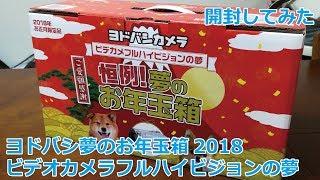 ヨドバシカメラ 夢のお年玉箱 ビデオカメラフルハイビジョンの夢 開封レビュー フルハイビジョン 検索動画 27