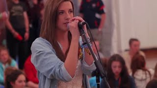 Gambar cover Anna Kendrick - When I'm gone (600 students at Coláiste Lurgan !)