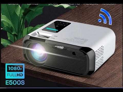 Unic E500S LCD Projector. Unic E500 1080P Projector.