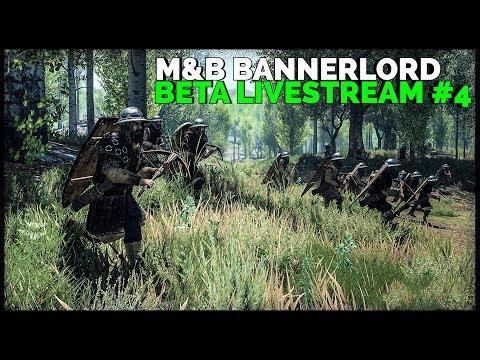 Mount & Blade II: Bannerlord  (2020 Experience) ► ☠️Beta Livestream #4 0.7.0 (Captain Mode & Custom)