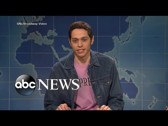 SNL star Pete Davidson appears on camera hours after disturbing post