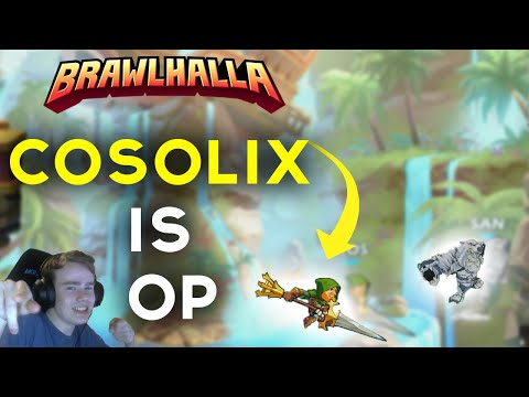 NERF COSOLIX! - Brawlhalla Player Montage #4 (The best lance strings, 0 to death and more)