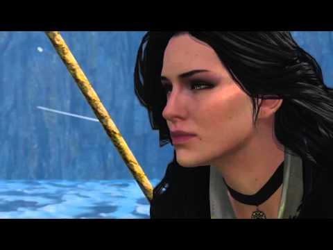 Wiedźmin 3 Ostatnie życzenie- Geralt i Yen razem [bez komentarza]