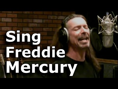 FREDDIE MERCURY Medley - Learn To Sing In Freddie's Style And Range - Lessons From Ken Tamplin