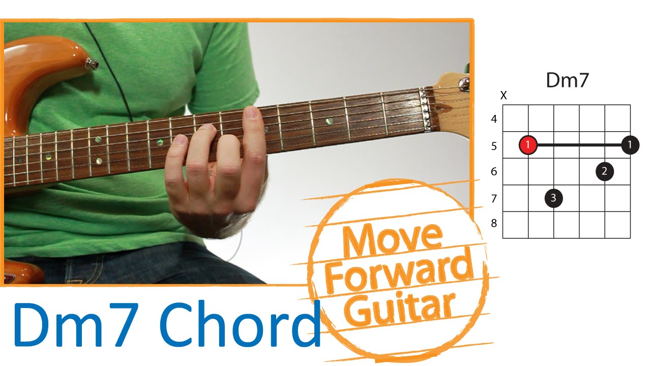 Guitar Chords Dm7 Bar Barre Part 1 Finger Placement Youtube
