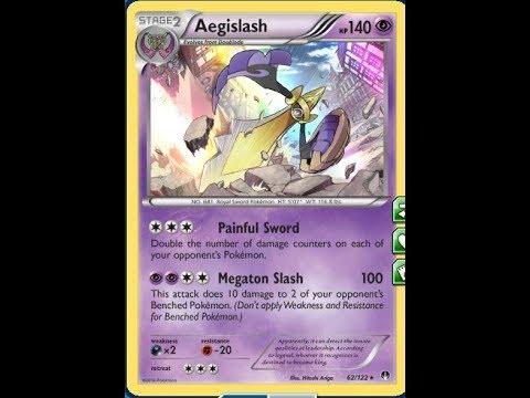 Pokemon TCGO Tapu Koko/Aegislash Battles #1 - Burning Shadows Post Rotation Standard Deck Format