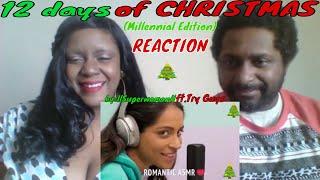 12 Days of Christmas (Millennial Edition)llSuperwomanll ft. Try Guys REACTION