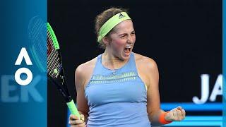 Jelena Ostapenko v Ying-Ying Duan match highlights (2R) | Australian Open 2018