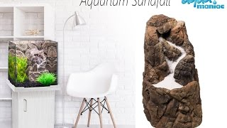 Aquarium sandfall decoration ready made for your fish tank