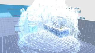 Emergency home repair - background video on the website