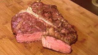 How to Grill a Thick Steak medium rare, Porterhouse Steak Recipe