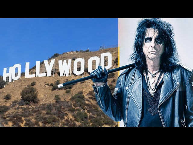 Alice Cooper Reveals Which Letter He Bought In The Hollywood Sign | Hot Breakfast | Triple M