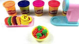 Learn Colors for Toddlers Play Doh Pasta Spaghetti Making Machine   Kids Go TV