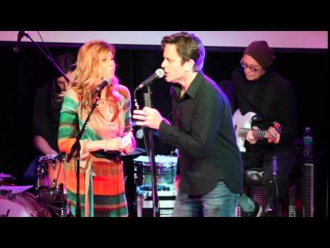 "Connie Britton and Chip Esten Sing ""The Rivers Between Us"""