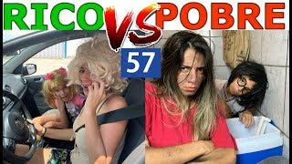 RICO VS POBRE FAZENDO AMOEBA / SLIME #57
