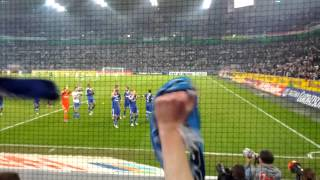Borussia Mönchengladbach gegen Schalke 04 0:1 Sieg