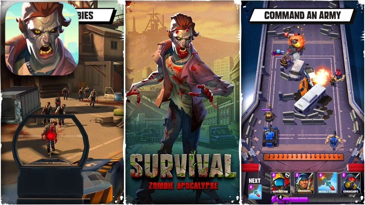 Guardians: Zombie Apocalypse - Android / iOS Gameplay