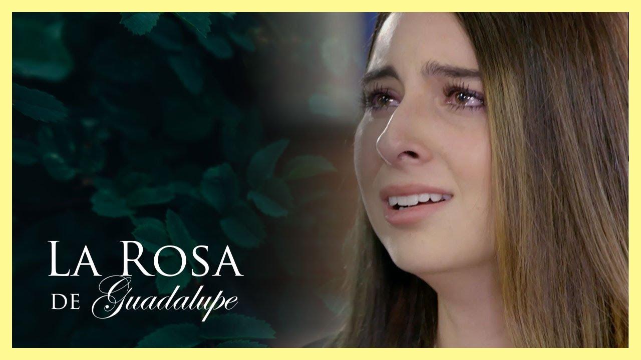Malena descubre que Sebastián es amante de una mujer mayor | De cuna humilde | La Rosa de Guadalupe