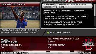 NCAA BASKETBALL 10 DYNASTY