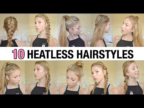 10 Easy Back to School Heatless Hairstyles