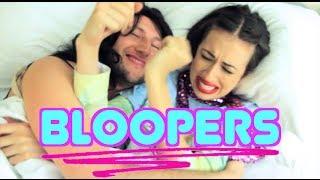 BLOOPERS! - The Blank Off Challenge ft. Miranda Sings