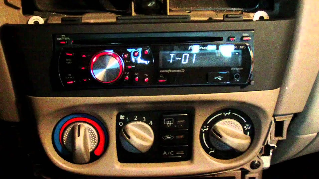 how to install and remove a radio without a wiring harness on a, wiring, 2001 nissan radio wiring