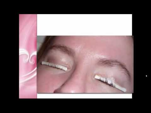 Permanently Curl Eyelash - Eyelash Perming Regina - YouTube