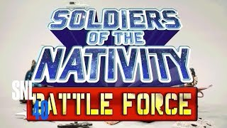 Cut For Time: Soldiers Of The Nativity Battle Force (Amy Adams) - SNL
