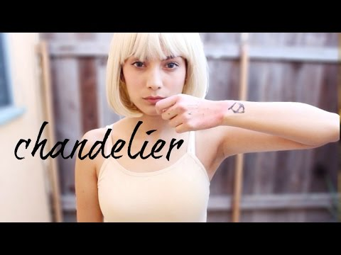 Look inspirado en maddie ziegler chandelier by sia look inspirado en maddie ziegler chandelier by sia maquillaje outfit yosoybonita aloadofball Image collections