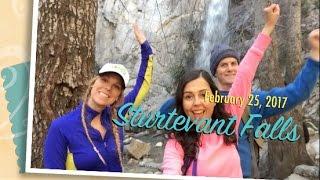 Sturtevant Falls hike in the San Gabriel Mountains