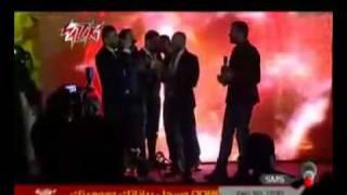ظهور رامى صبرى فى حفل اصدار البوم كريم محسن كل الكلام