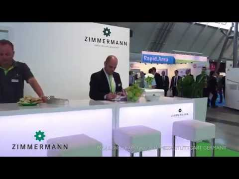 Video stand ZIMMERMANN MOULDING EXPO may 2015 MESSE STUTTGART GERMANY.