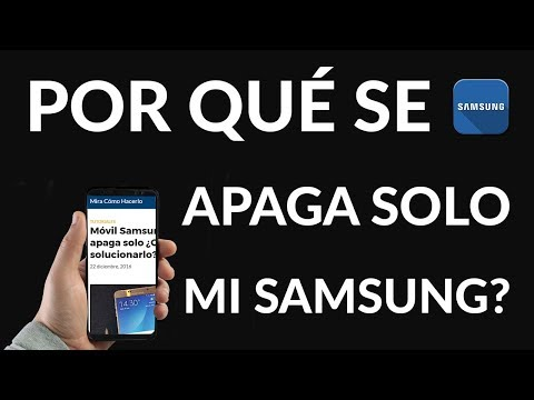 Móvil Samsung se Apaga solo ¿Cómo Solucionarlo?